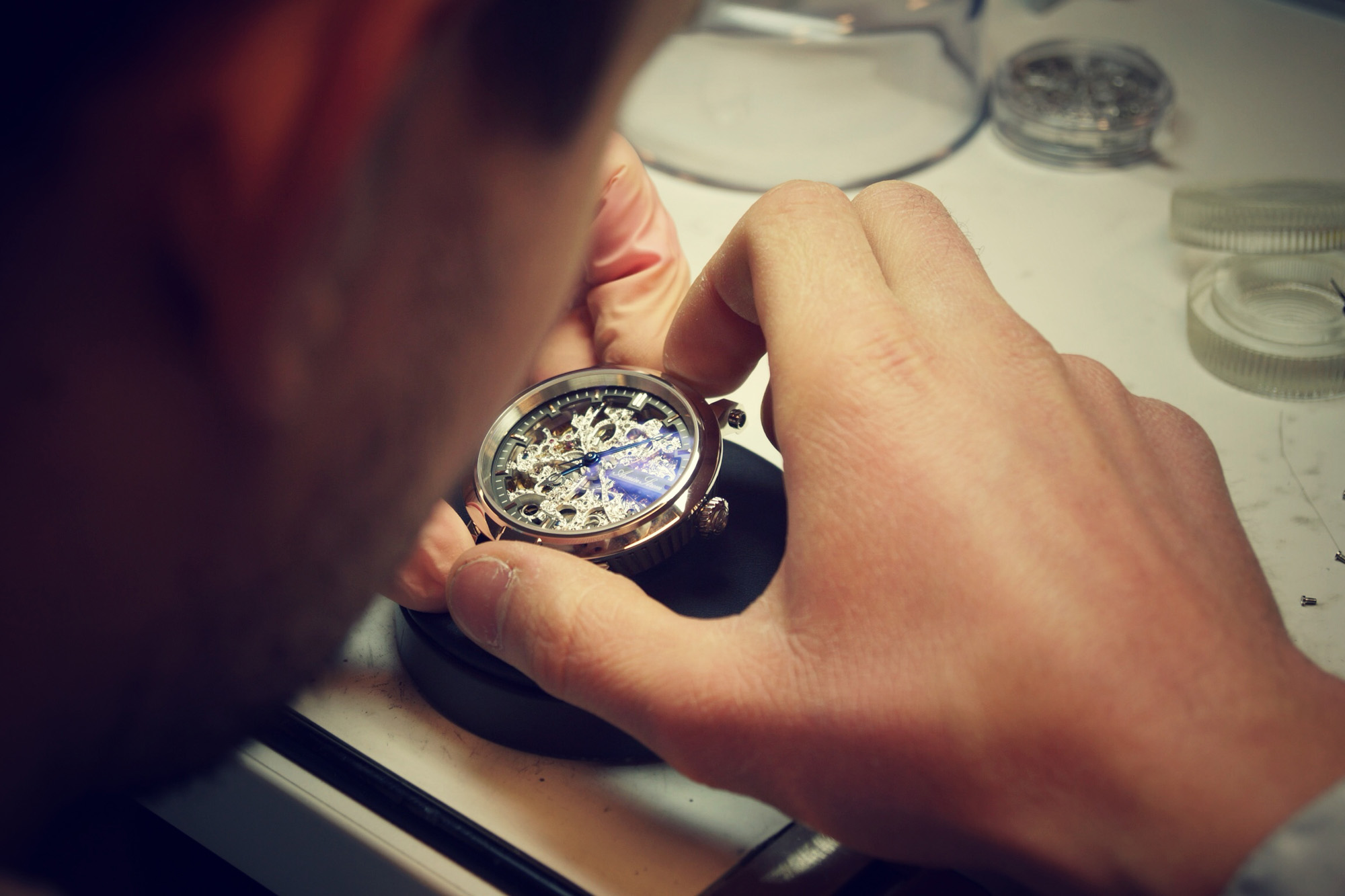 Armin Strom Factory Visit - Watchmaker at Work