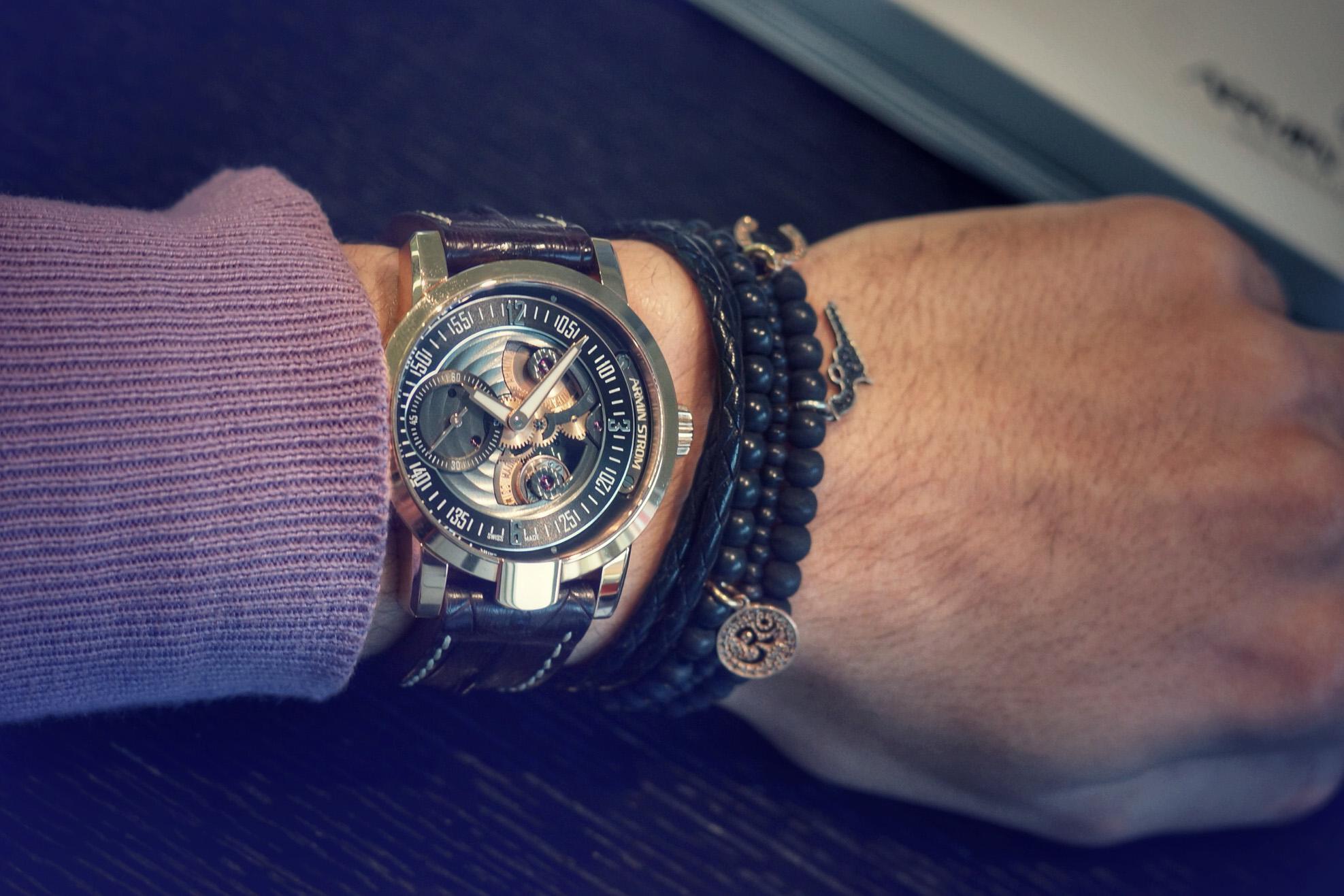 Armin Strom Gravity - Wristshot