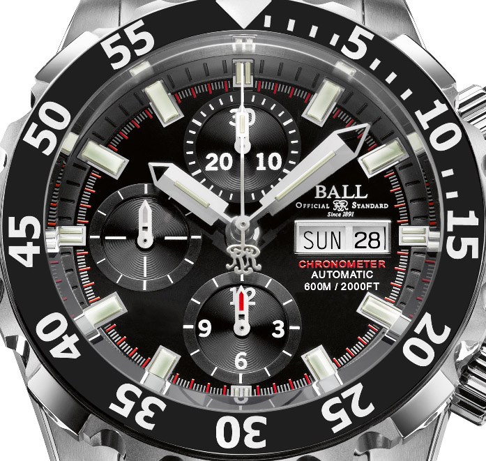 Ball Engineer Hydrocarbon NEDU - Dial