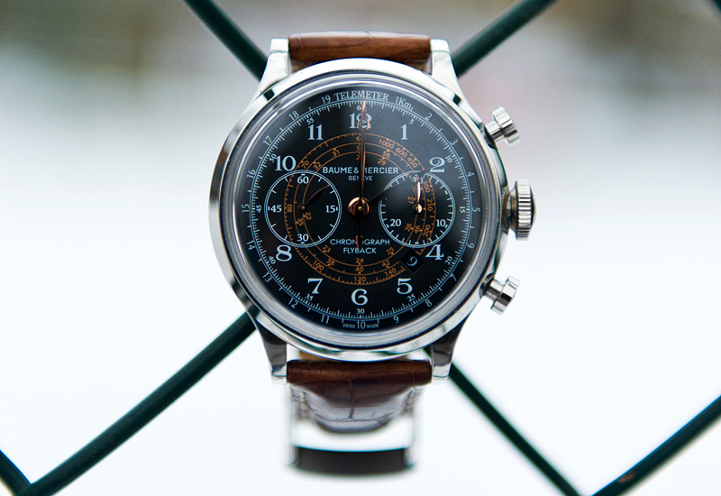 Baume & Mercier Capeland Flyback Chronograph - Dial