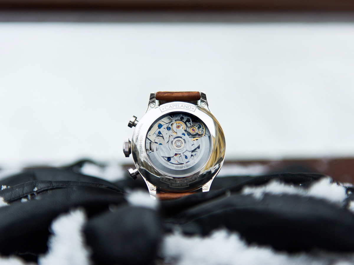 Baume & Mercier Capeland Flyback Chronograph - Caseback