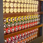 Alan Turing's Bombe Machine