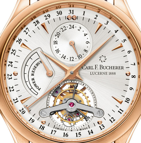 Carl F. Bucherer Manero Tourbillon - Dial