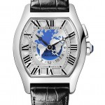 Cartier Tortue Worldtime - White Gold (Dial)