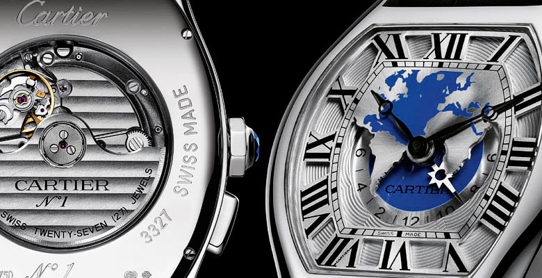 Cartier Tortue Worldtime