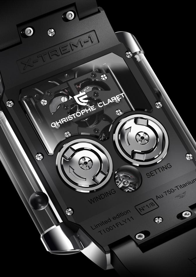 Christophe Claret X-TREM-1 - Caseback