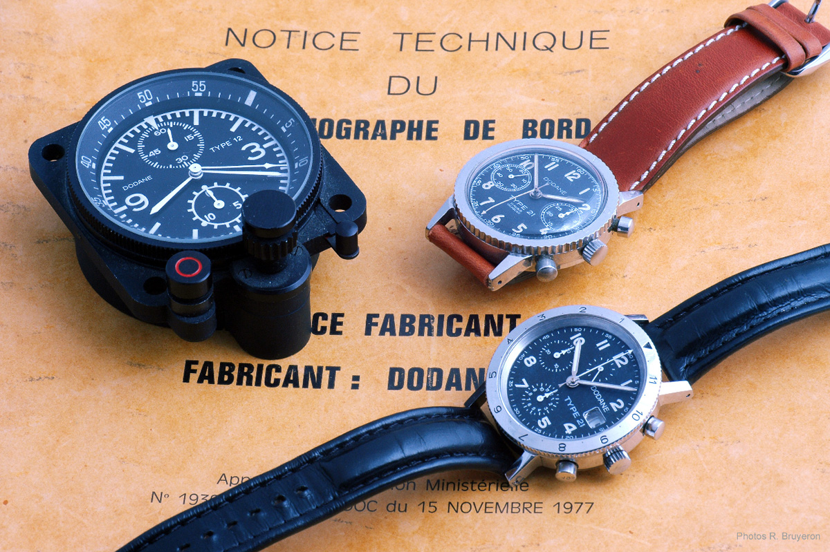 Dodane 1857 - Type 12 and Type 21 French Watches