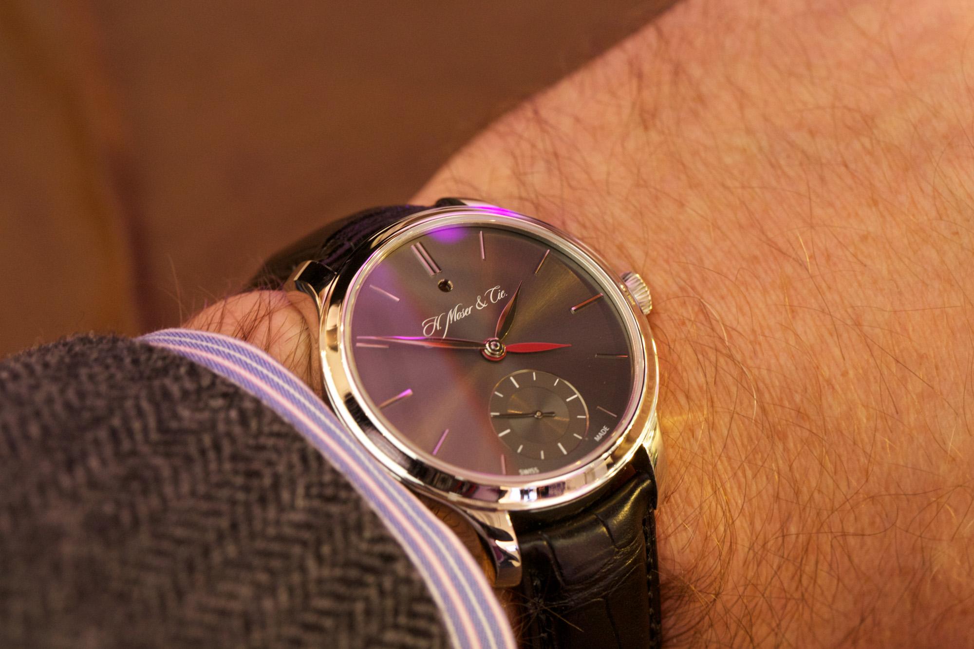 H. Moser & Cie Nomad Dual Time - Wristshot
