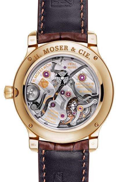 H. Moser & Cie Perpetual 1 - Caseback