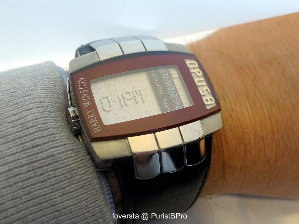 Harry Winston Opus 8 - Wristshot