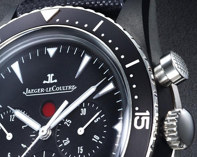 Jaeger-LeCoultre Deep Sea Chronograph Cermet - Details