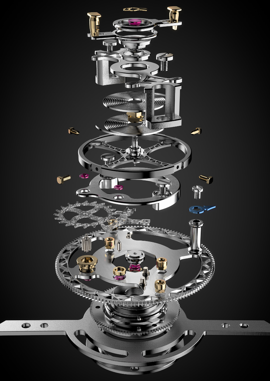 L. Leroy Tourbillon