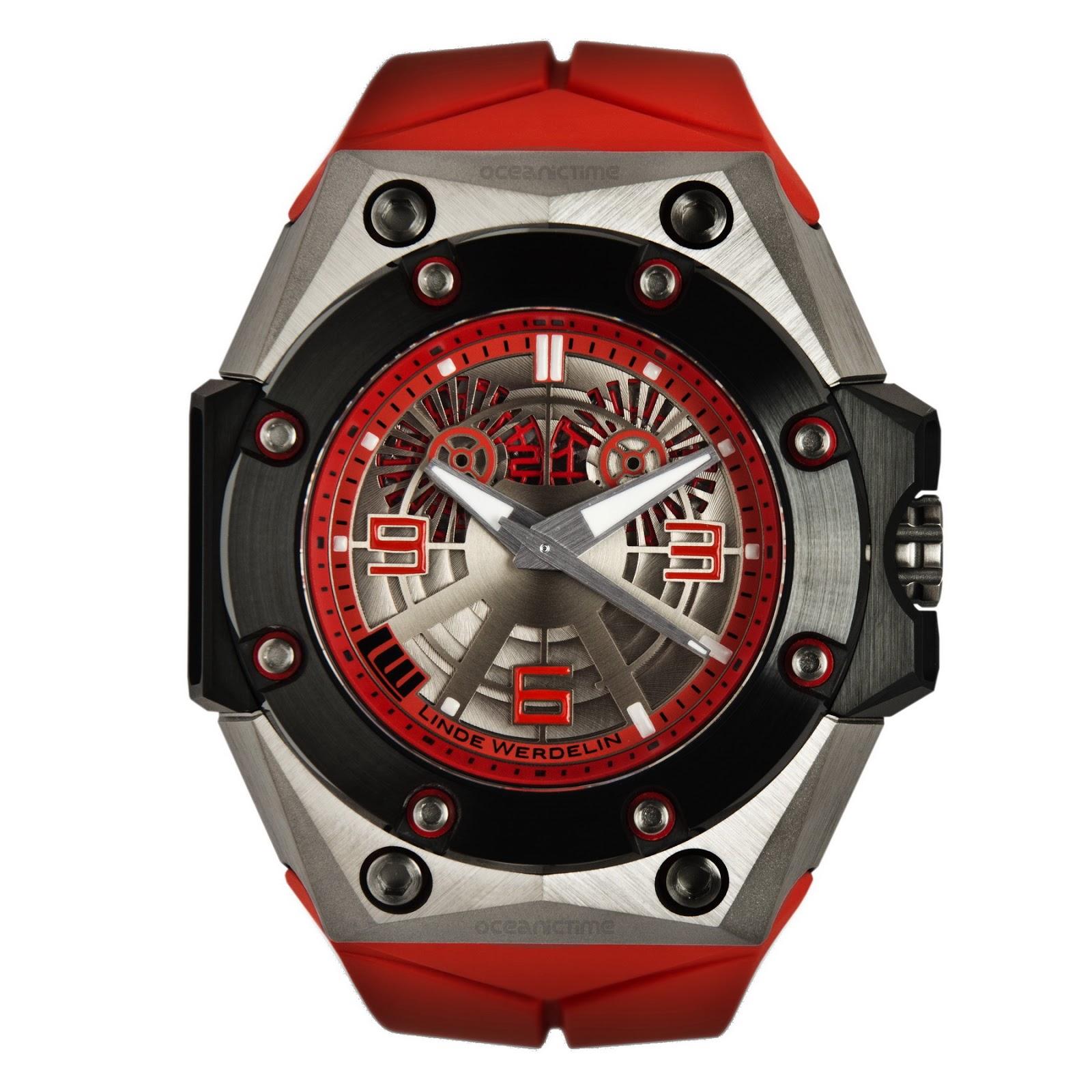 Linde Werdelin Oktopus II Titanium Red