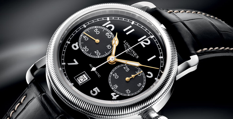 Longines Avigation Oversize Crown