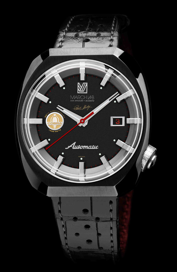 March LA.B AM3 Shelby Cobra LE watch