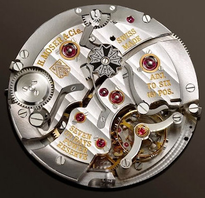 H. Moser & Cie Perpetual 1 - Movement