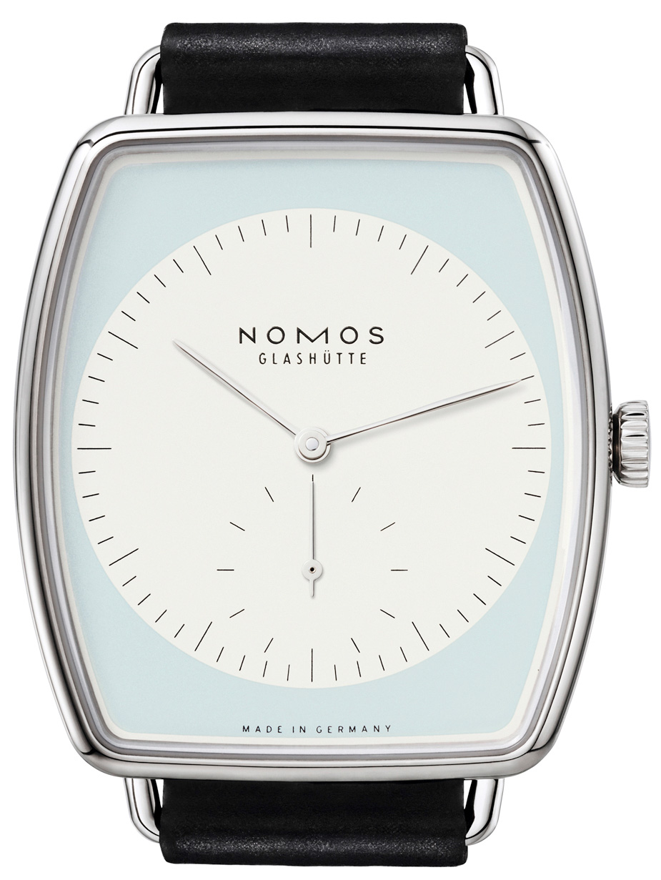 Nomos Glashuette Lux Weissgold - Dial
