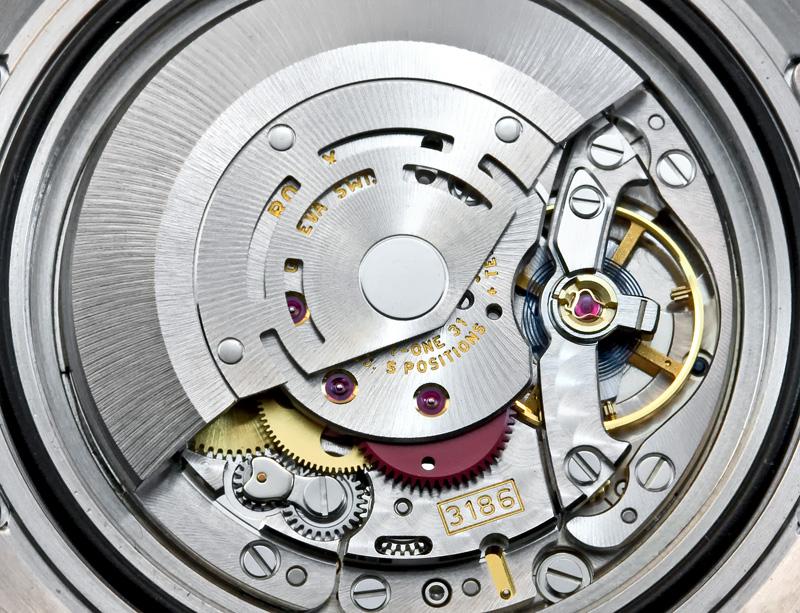 Rolex 3186 Caliber