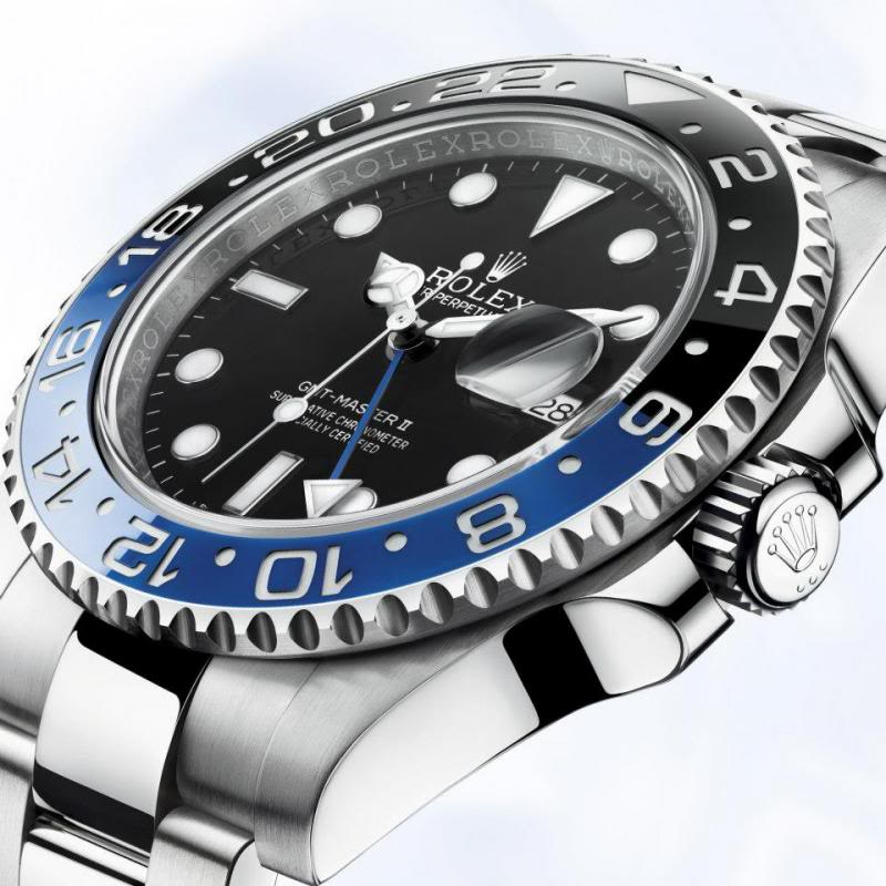 Rolex GMT Master II Day/Night - Case and Dial