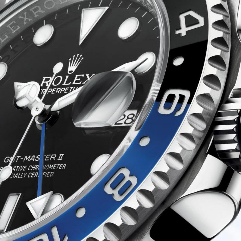 Rolex GMT Master II Day/Night - Close Up
