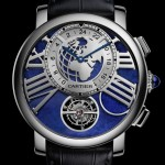 Rotonde de Cartier Earth & Moon - Dial