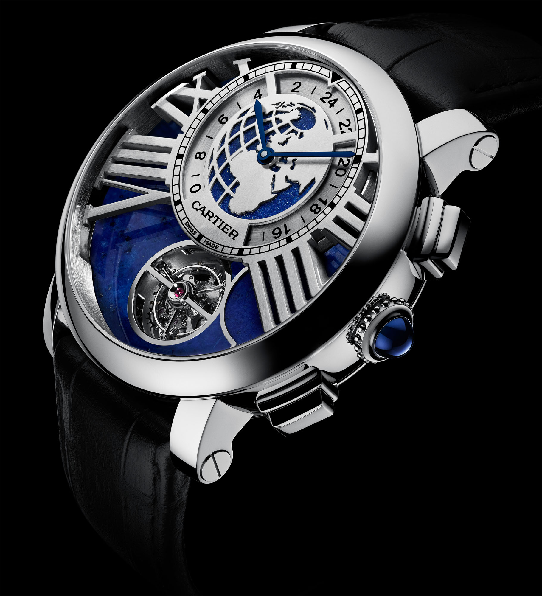 The Rotonde de Cartier Earth & Moon