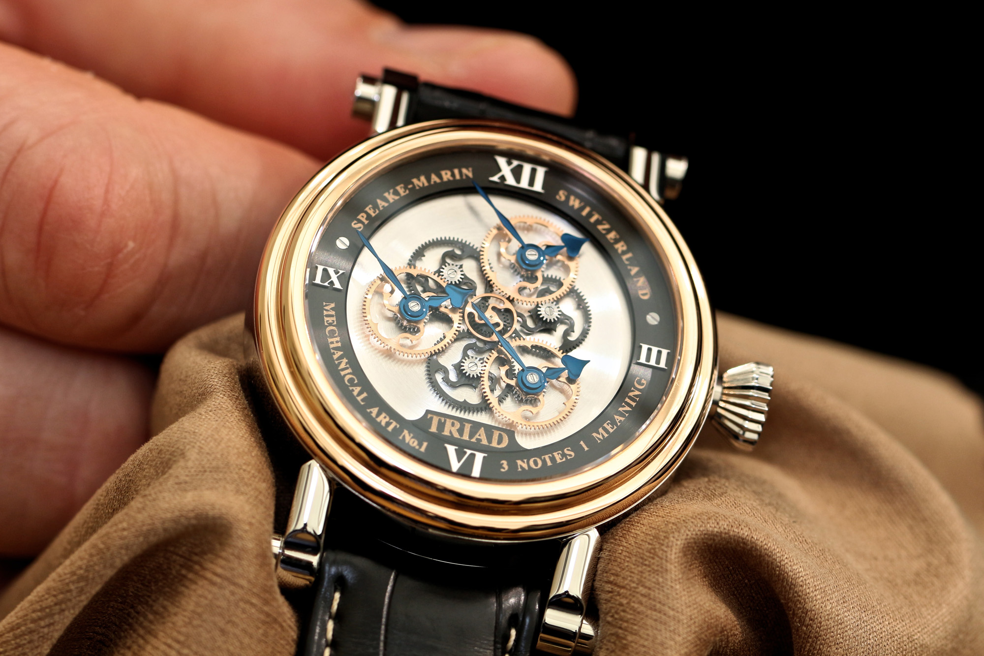 Speake-Marin Triad - Hands-On