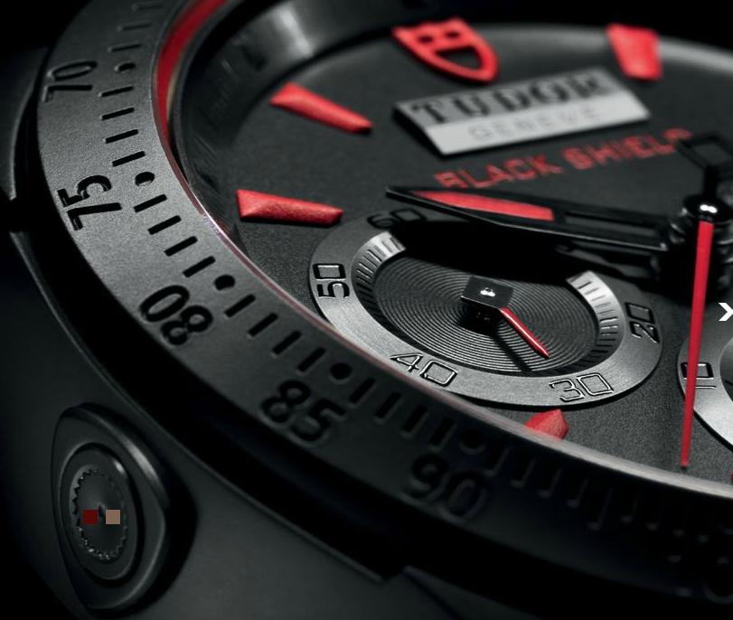 Tudor Fastrider Black Shield - Dial
