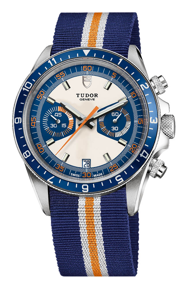 Tudor Heritage Chrono Blue - With NATO Strap