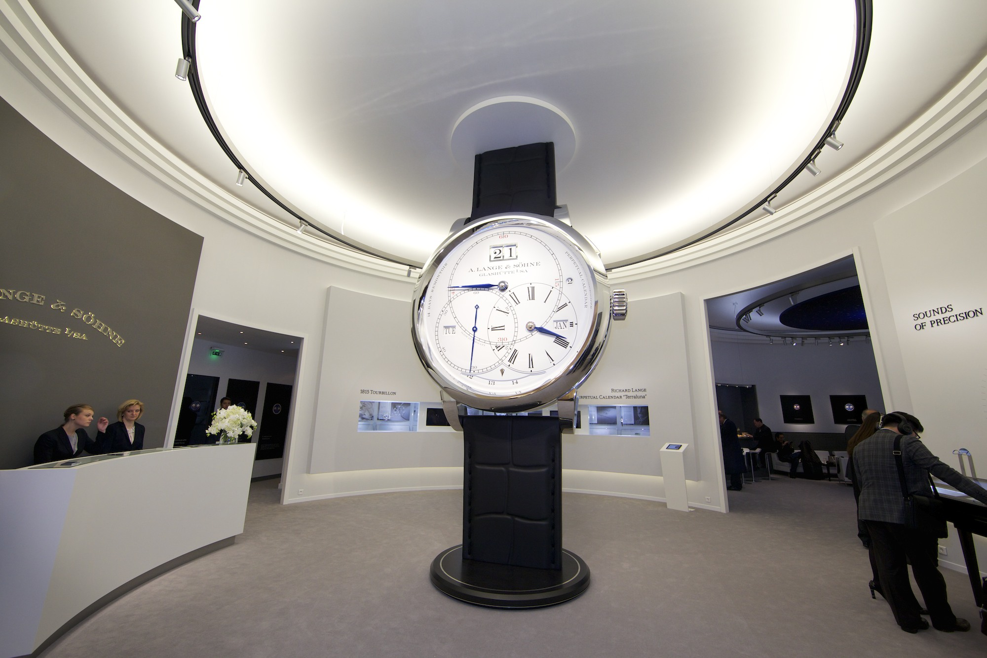 A. Lange & Söhne at SIHH 2014 - Lobby