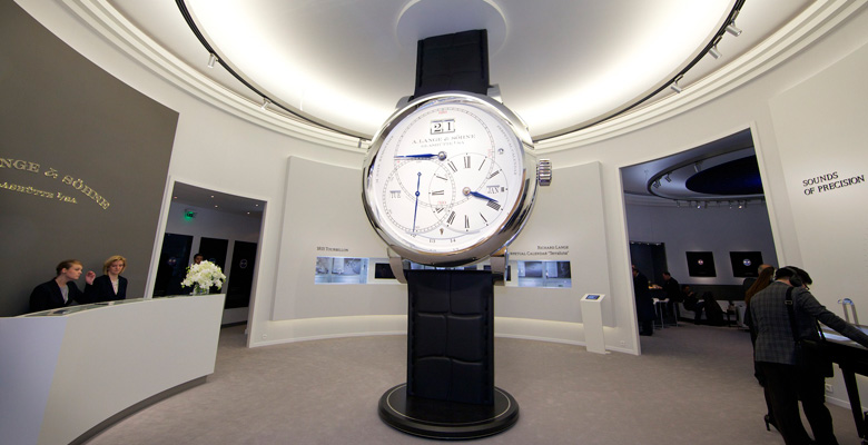 A. Lange & Söhne at SIHH 2014 - Photo Report