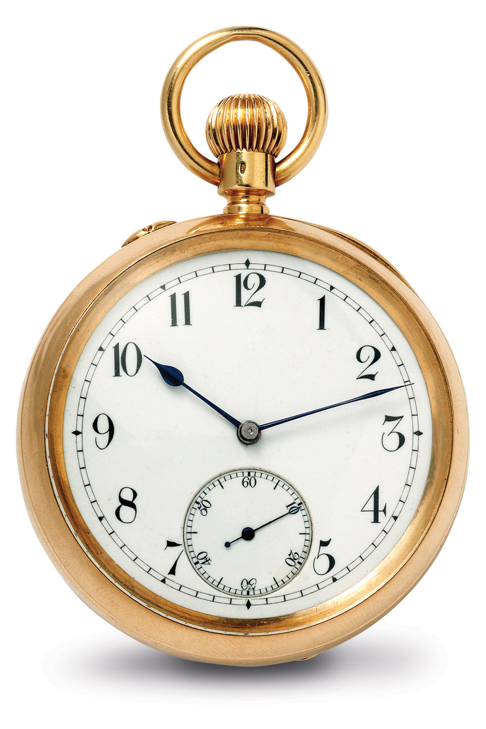 Baume & Mercier Hand Wound Pocket Watch Tourbillon (1892)