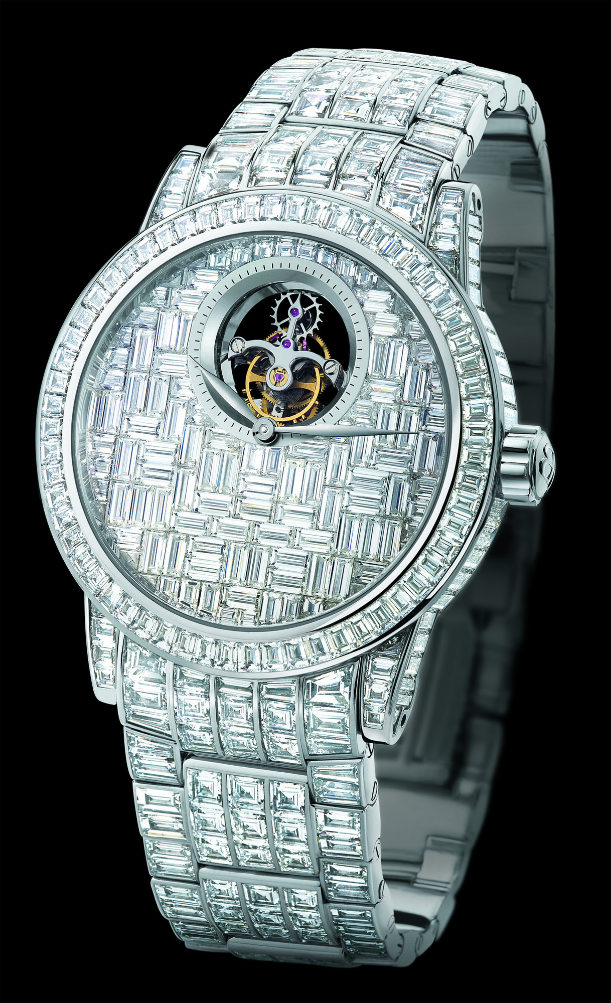 Blancpain Tourbillon Full Diamonds