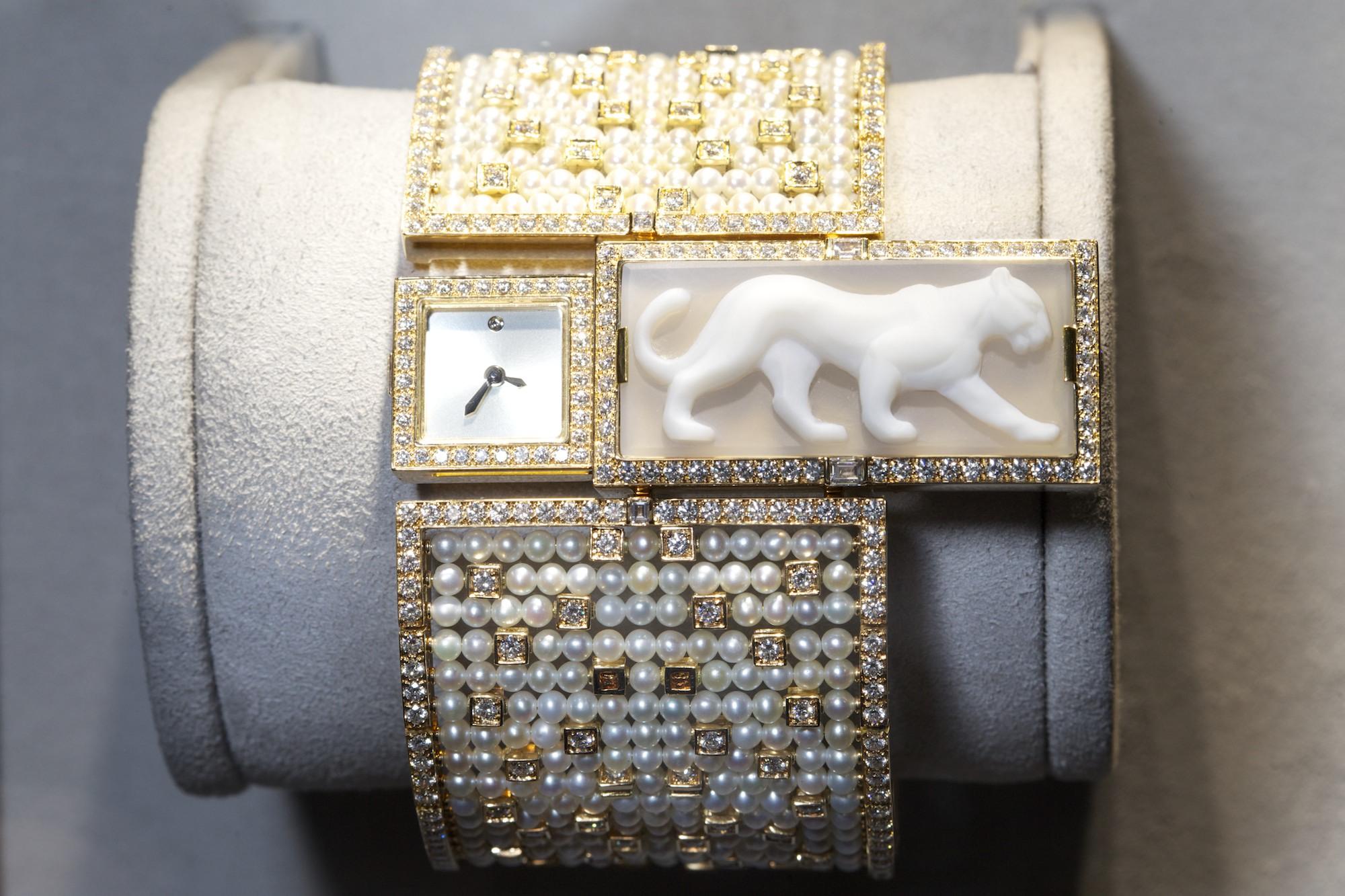 Cartier Montre a Secret Panthere
