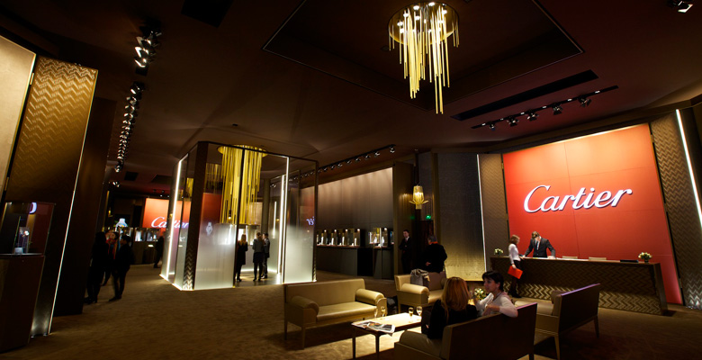 Cartier at SIHH 2014 - Photo Report