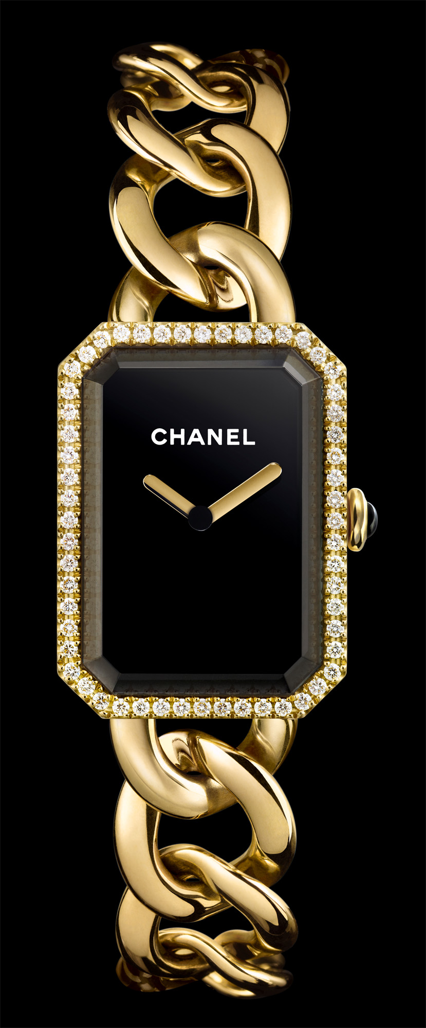 Chanel Première Gem Set Gold