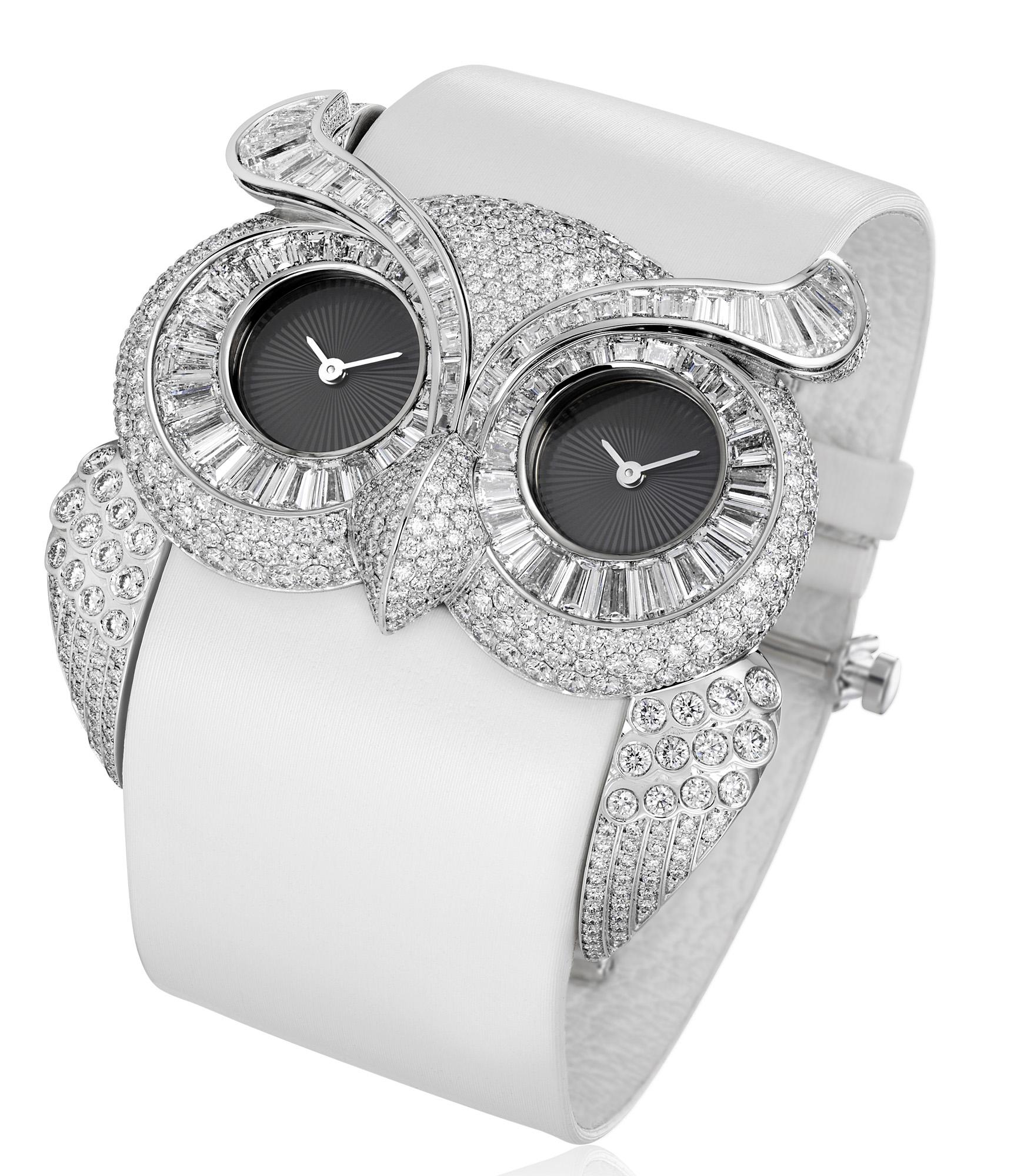 Chopard Animal World Diamond Owl Watch
