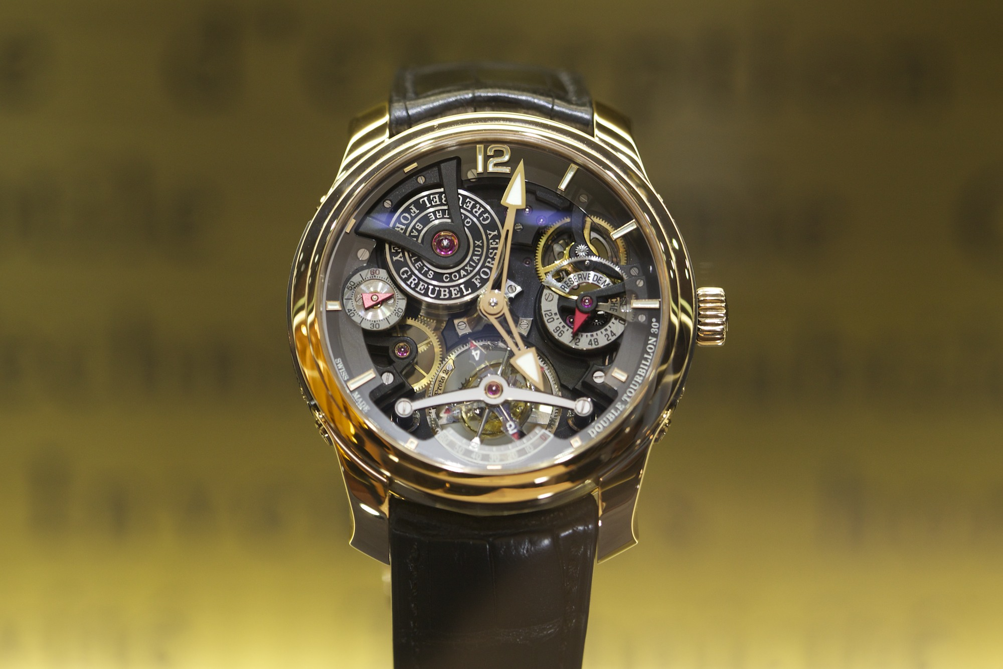 Greubel Forsey Double Tourbillon 30°