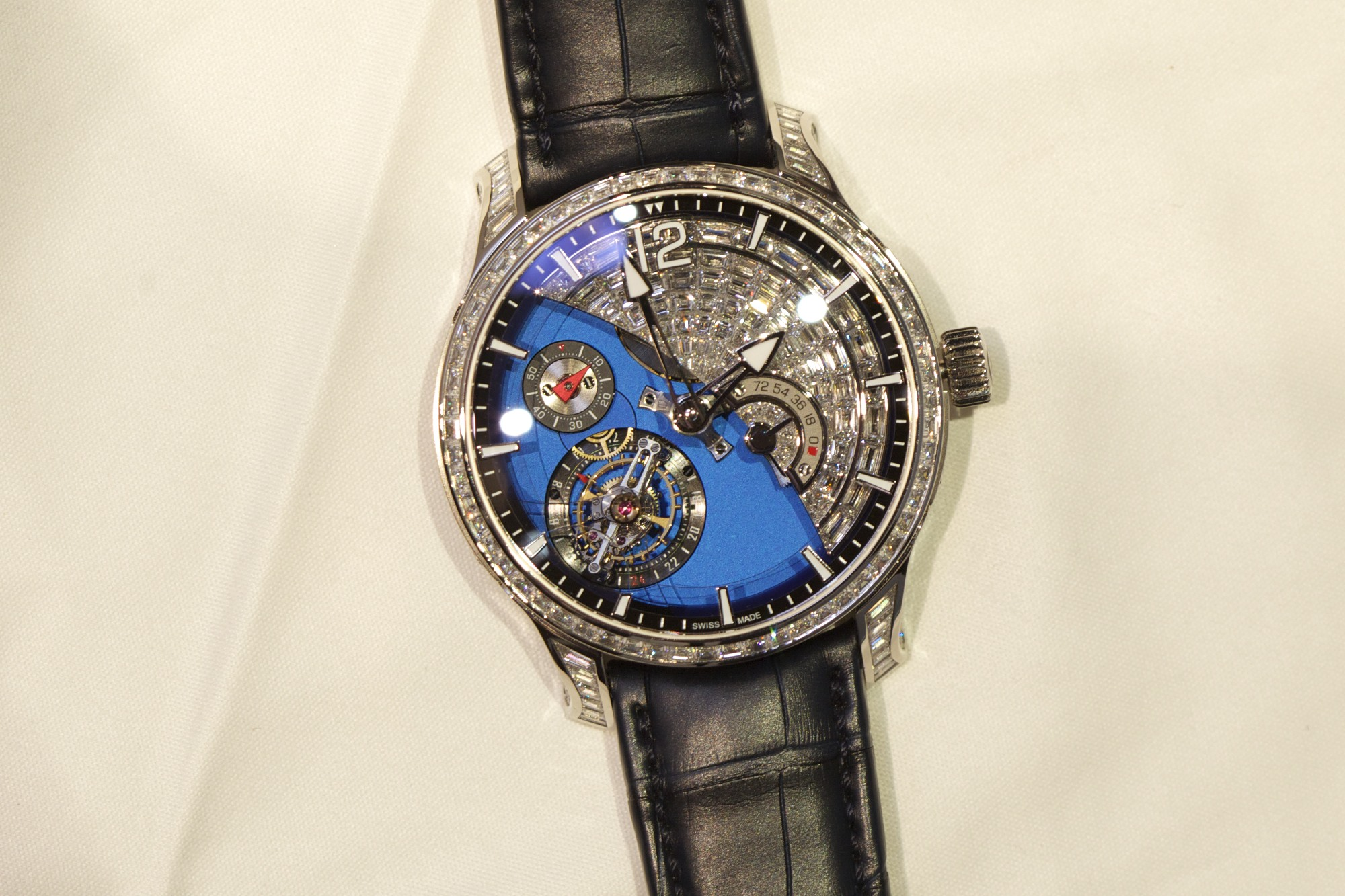 Greubel Forsey Tourbillon 24 Secondes Contemporain Sertie