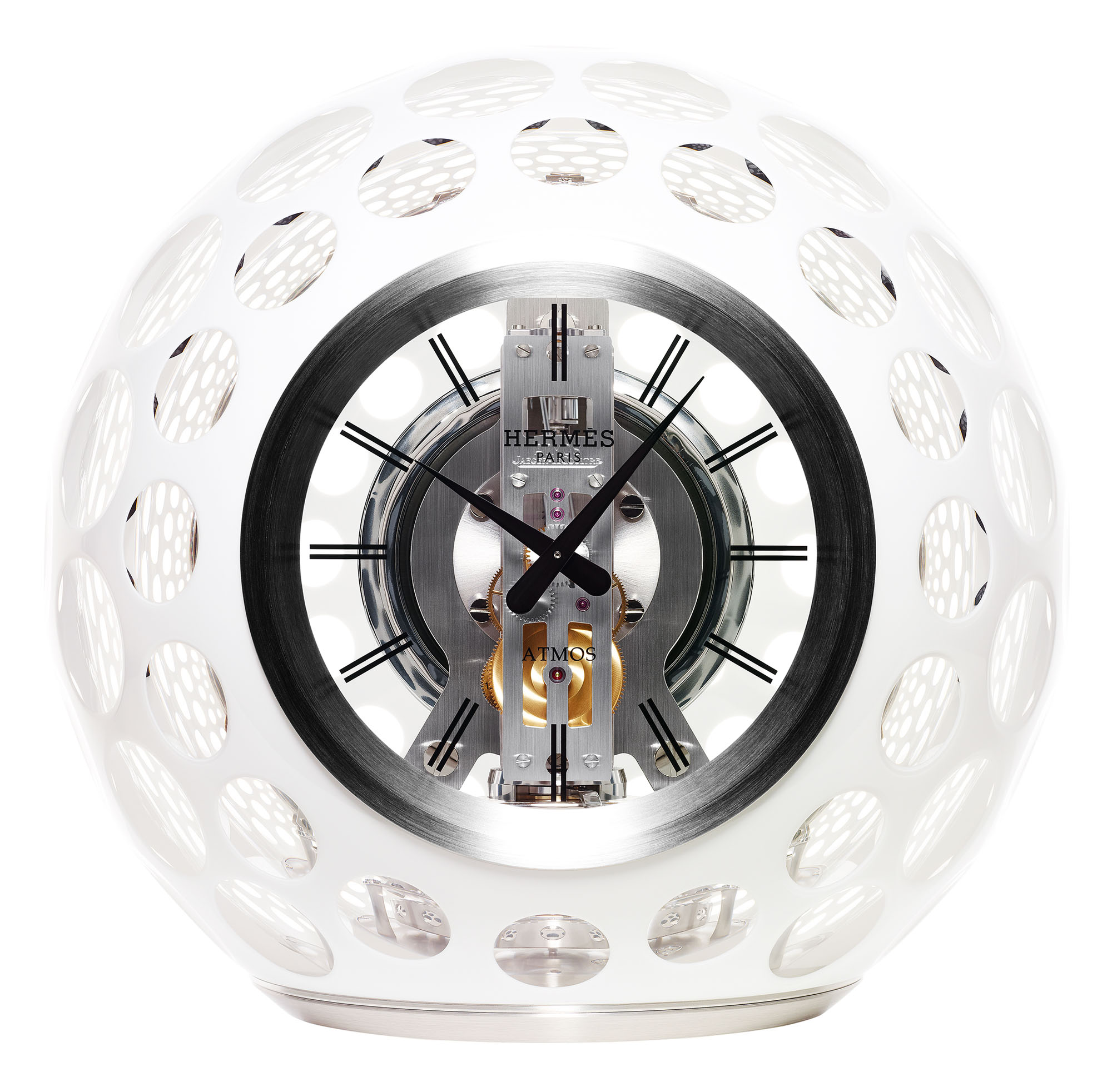 Hermes Atmos Clock by Jaeger-LeCoultre