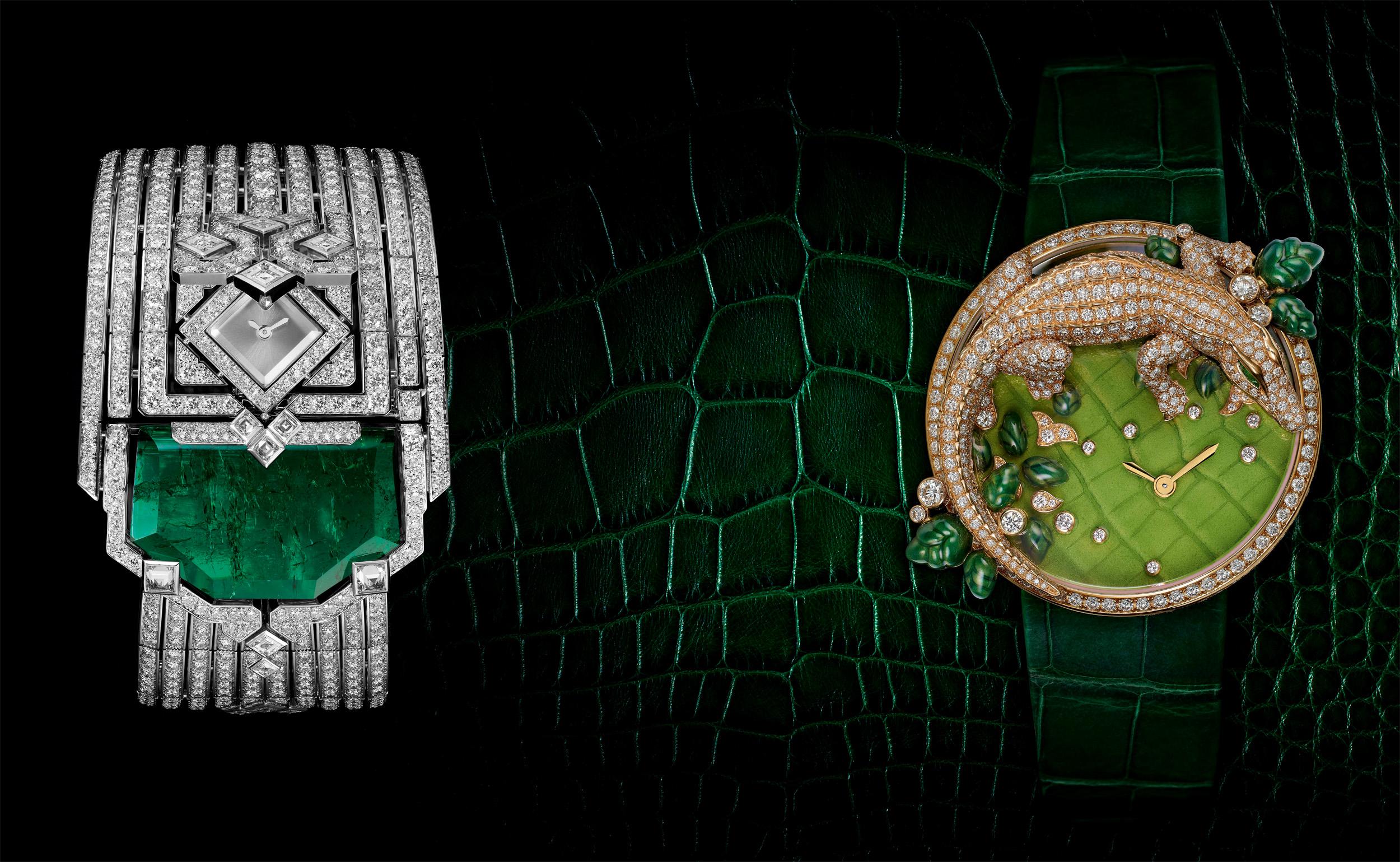 SIHH 2014 Cartier - L'Heure Envoutee de Cartier