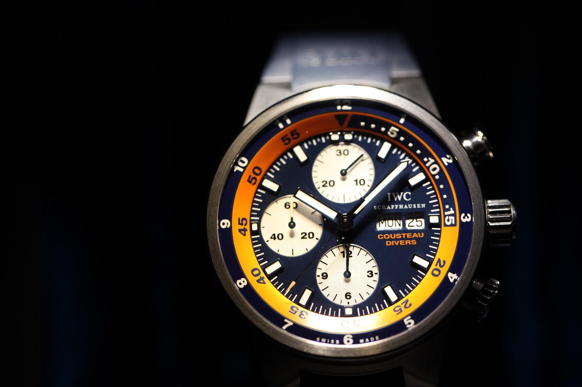 "IWC Aquatimer Chronograph ""Cousteau-Divers"""