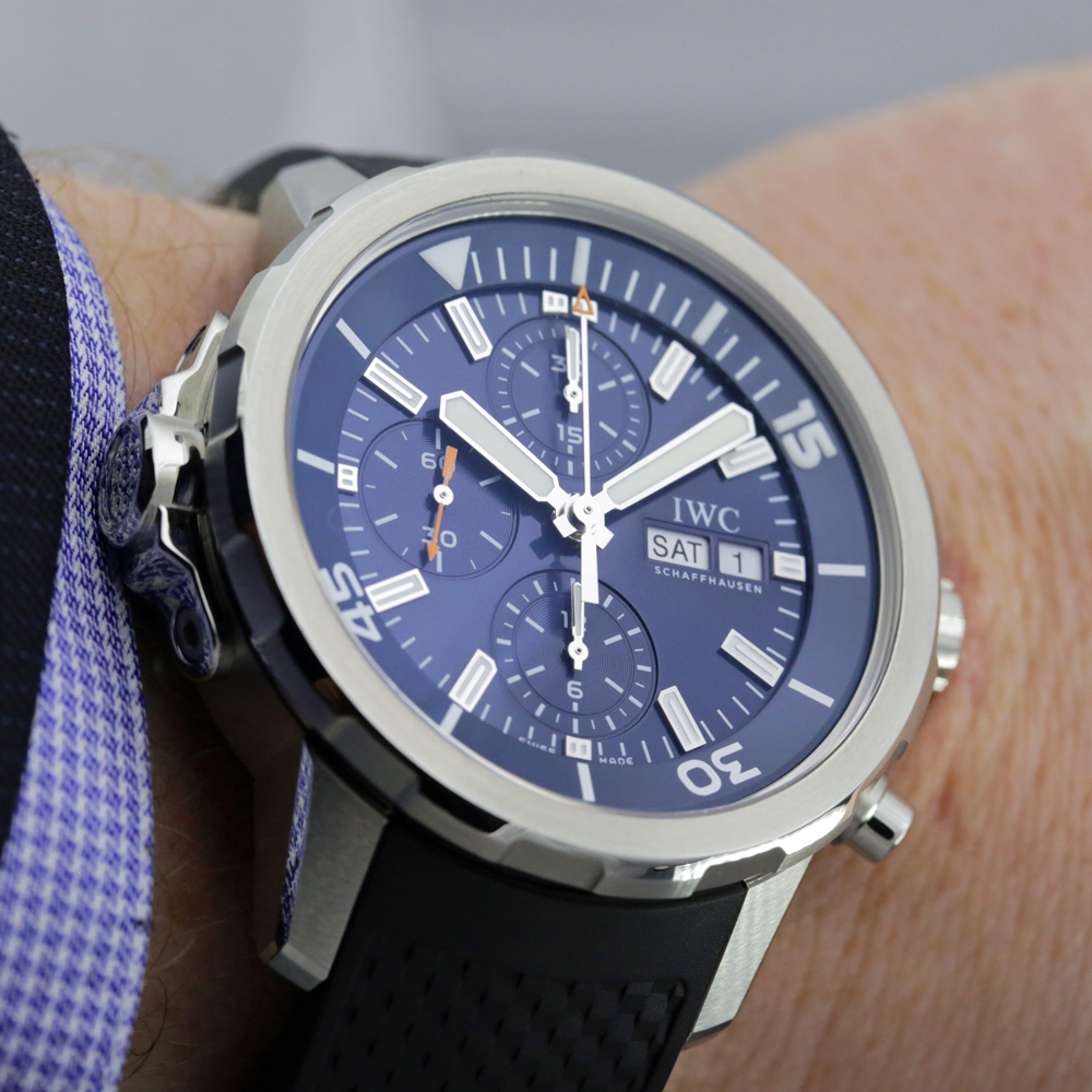 IWC Aquatimer Chronograph Expedition Jacques-Yves Cousteau replica
