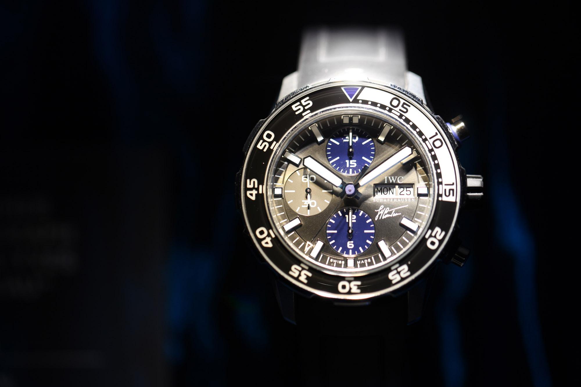"""IWC Aquatimer Chronographe """"Jacques-Yves Cousteau"""""""
