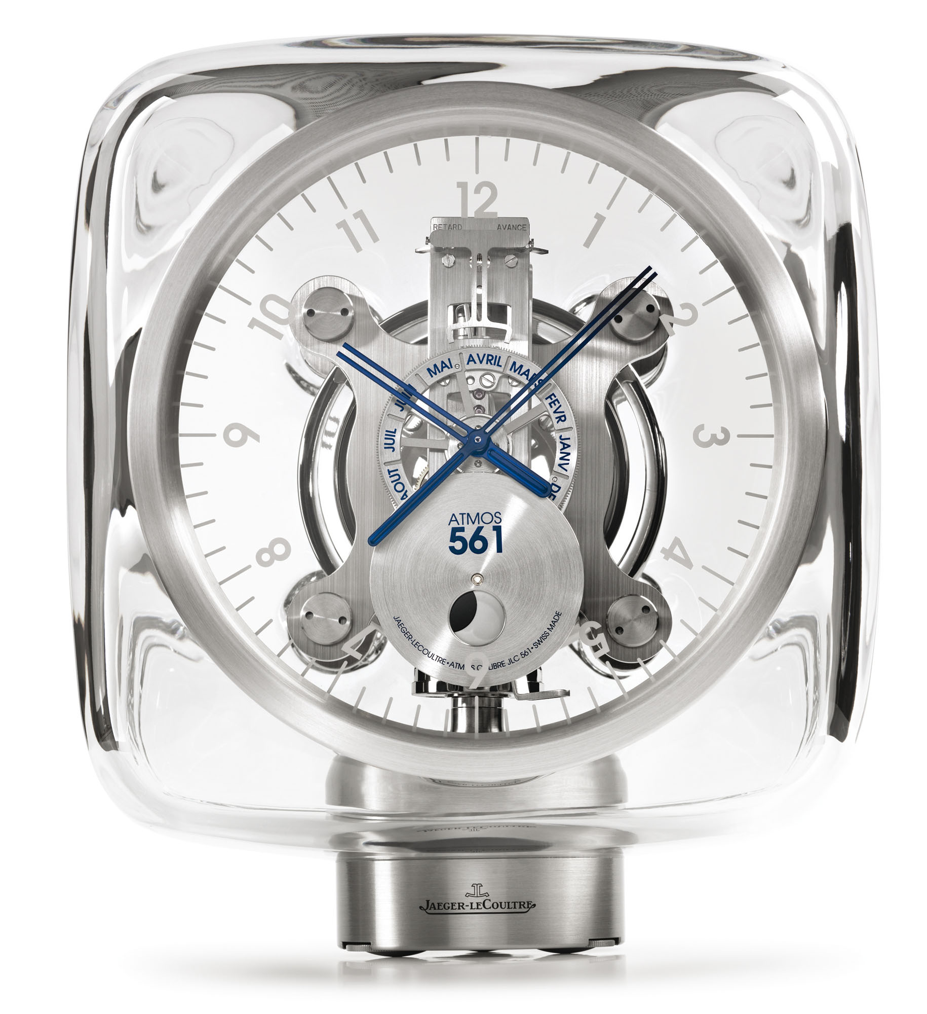 Jaeger-LeCoultre Atmos 561 by Marc Newson