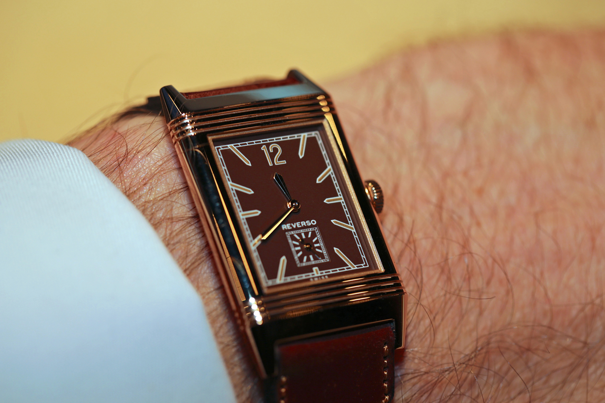Jaeger-LeCoultre Grande Reverso Ultra Thin 1931 - Wristshot