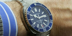JeanRichard Aquascope Blue Dial