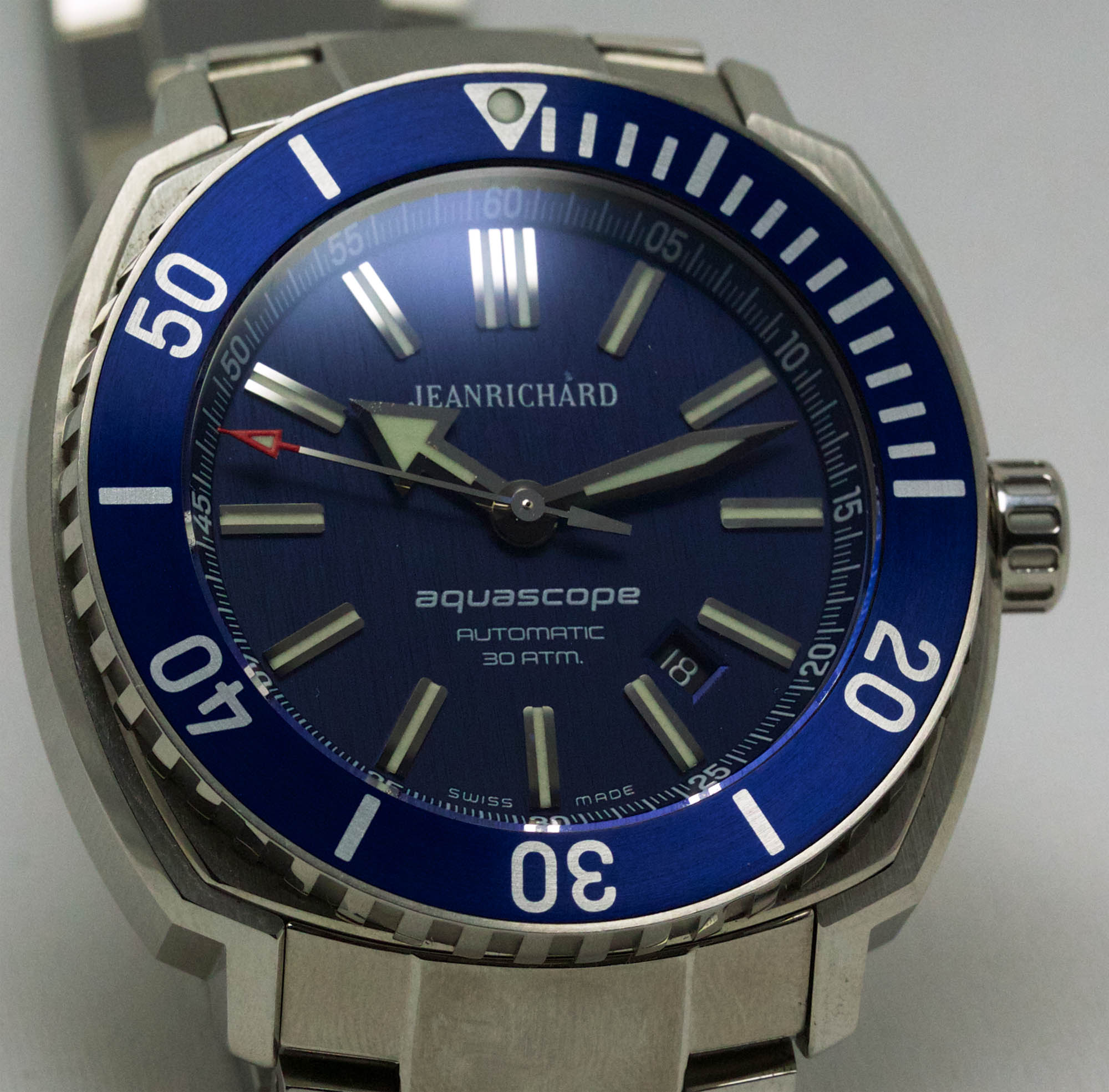 JeanRichard Aquascope Blue Dial - Dial