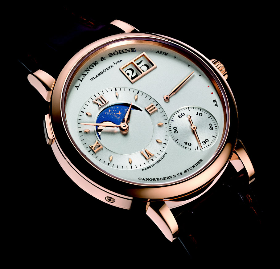 A. Lange & Söhne Grand Lange 1 Moonphase - Dial