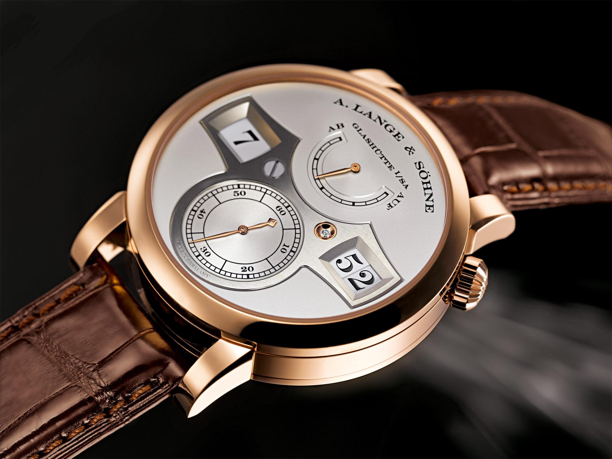 A. Lange & Söhne Zeitwerk (Solid Silver Dial)